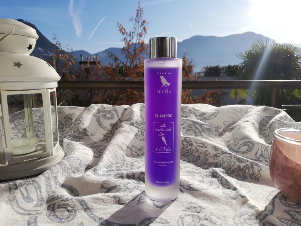 Shampoo with purple carrots Sei Stelle Mama